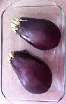 Raw-eggplant