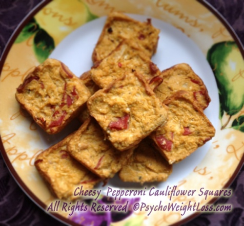 Cheesy-Pepperoni-Cauliflower-Squares-3