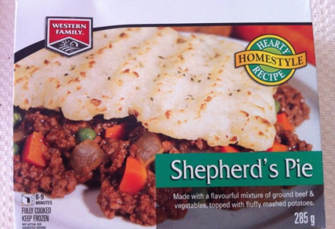 Western Family Shepherds Pie Box