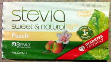 Peach-Stevia